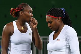 Serena Williams and Venus William