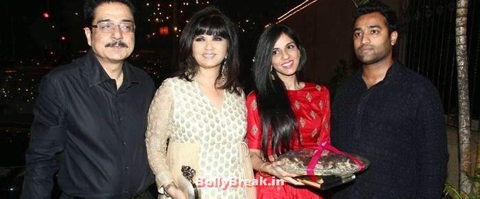 Shyam Lulla, Neeta Lulla, Nishka Lulla, Photos from Amitabh Bachchan's Diwali Bash 2014