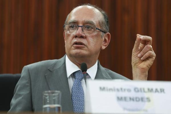 'Temos uma ameaça à segurança pública que tem que ser censurada', diz Gilmar