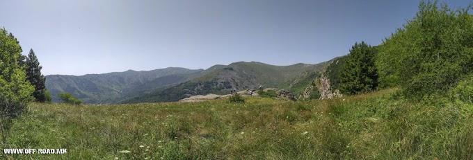 Crveni Steni (Red Rocks) – WW1 location - Pelister National Park, Macedonia