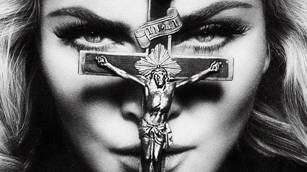 Madonna en blanco y negro