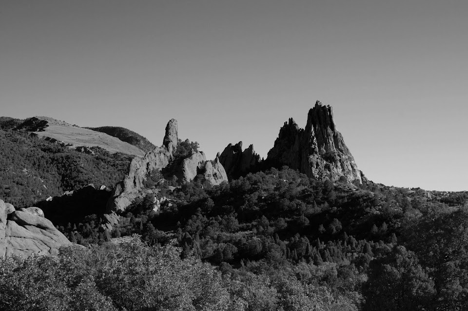 Garden of the Gods by Cyndi Calhoun Luminosity