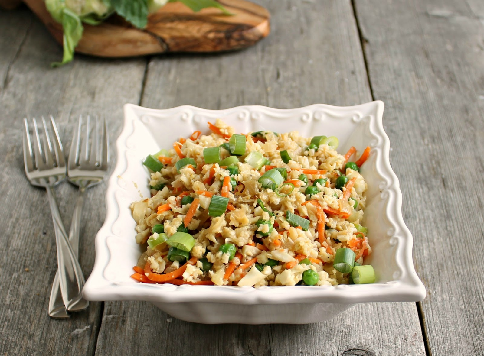 Hungry couple cauliflower fried rice cauliflower fried rice forumfinder Choice Image