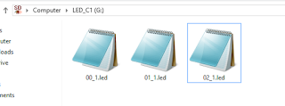 Program File placement in SD card