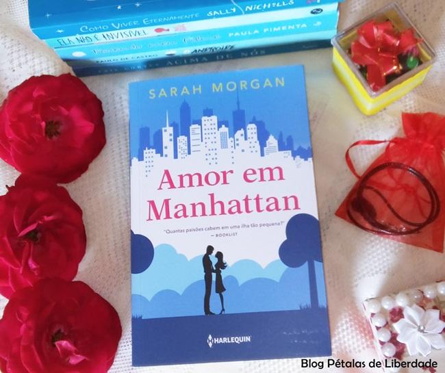 Amor-em-Manhattan, Sarah-Morgan, resenha, livro, Harlequin