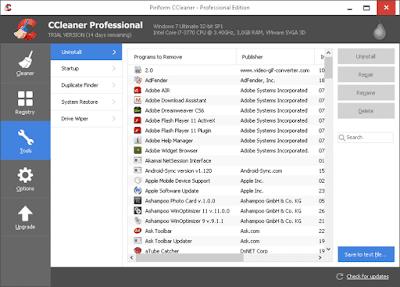 تحميل برنامج ccleaner professional كامل, تفعيل ccleaner, تحميل كراك برنامج ccleaner, تحميل ccleaner, اخر اصدار من ccleaner professional plus