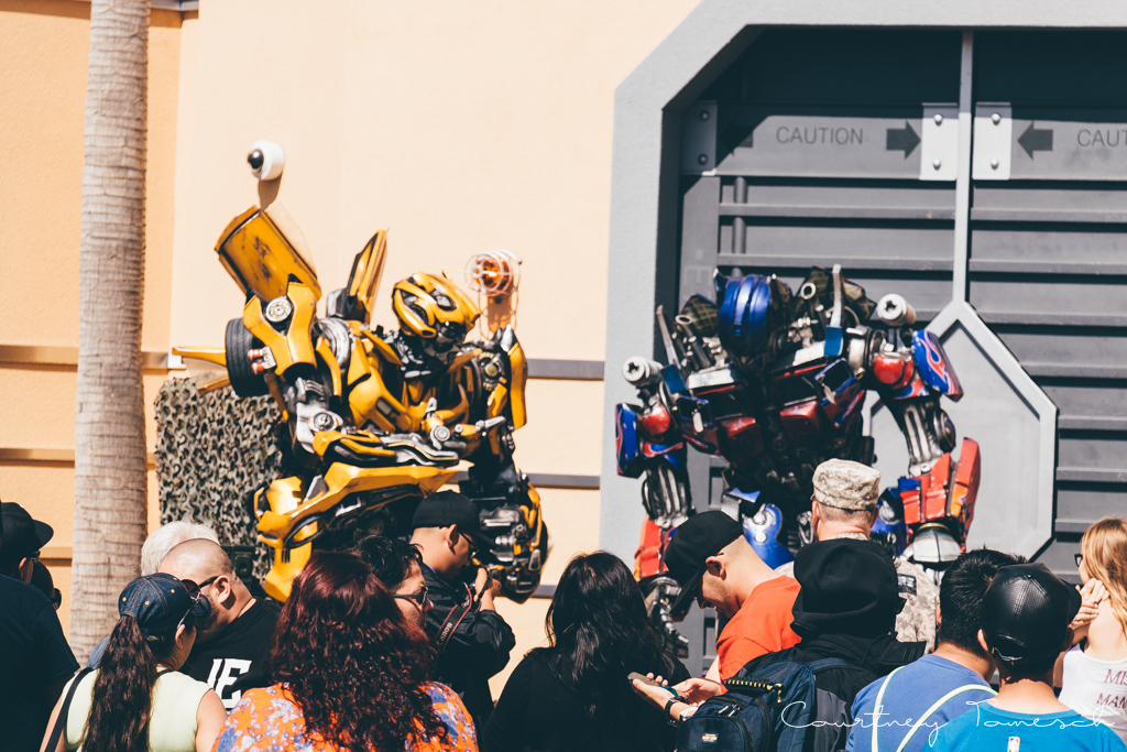 Courtney Tomesch Transformers Universal Studios Hollywood