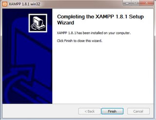 cara menginstall XAMPP di Windows