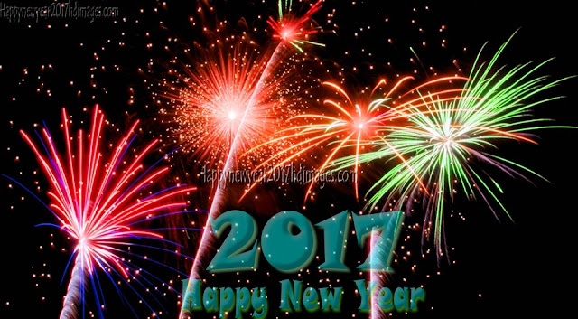 Happy New Year 2017 HD Fireworks Photos Wishes Download Free