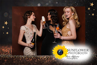 The Sunflower Photobooth by Aris Affairs Photography can add the right touch to your Prescott wedding.
