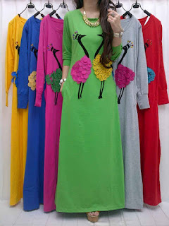 Gamis Kaos fit to L