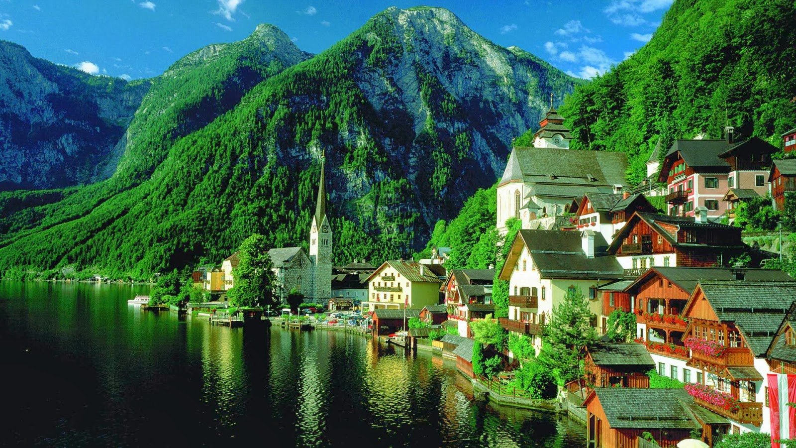 nature wallpaper view of austria | wallpaper view