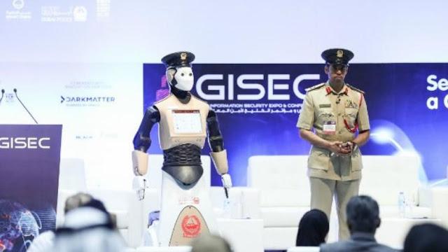 Policia robot dubai