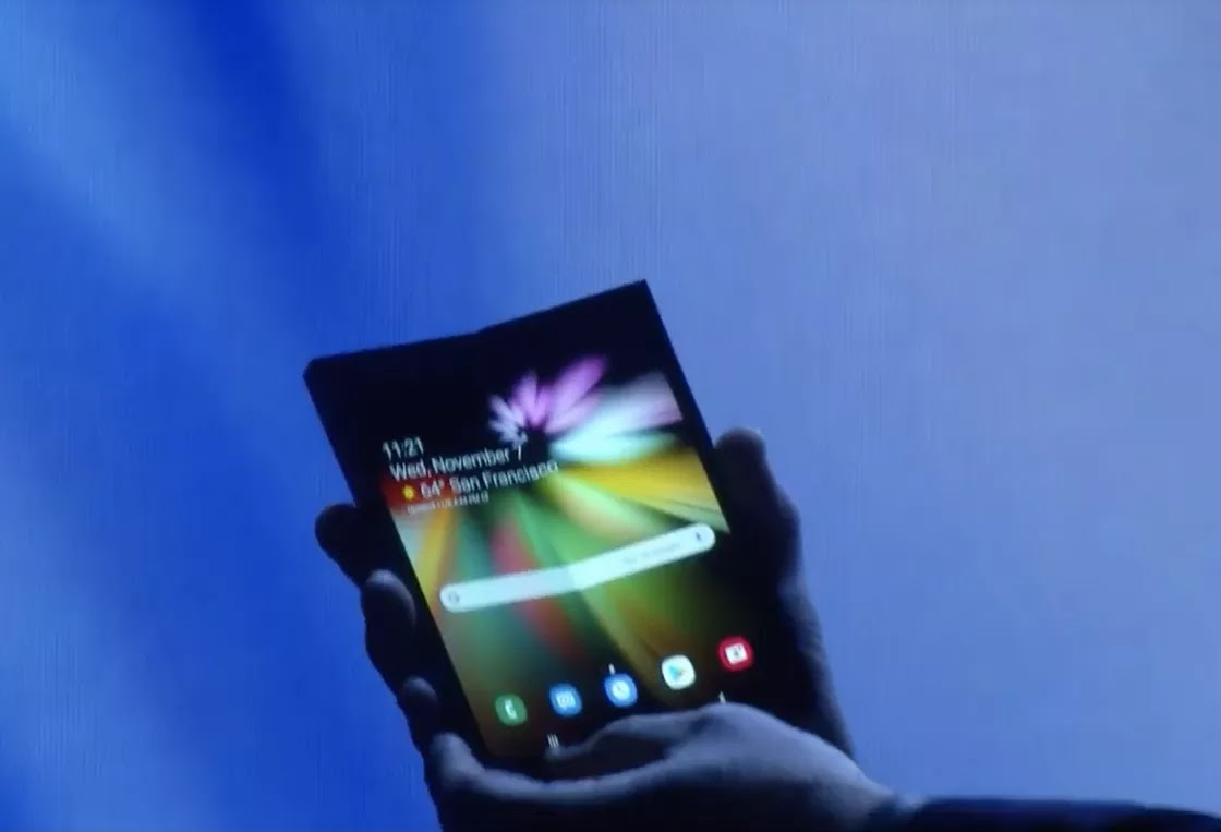 Samsung's first foldable Smartphone