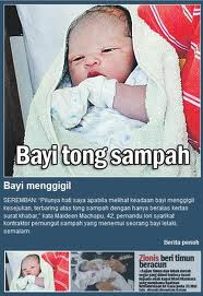 BABY DUMPING AMONG TEENAGERS IN MALAYSIA