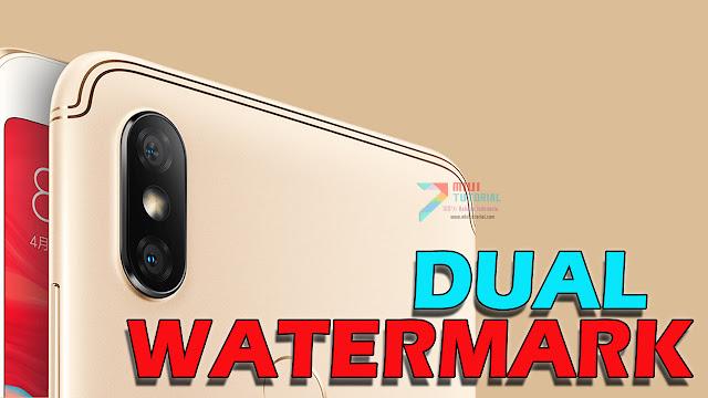 Cara Install Dual Watermark di Xiaomi Resmi 2 Tanpa Root Inikah yang Kamu Cari