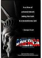 America: dalla Libertà al Fascismo - A. Russo  locandina