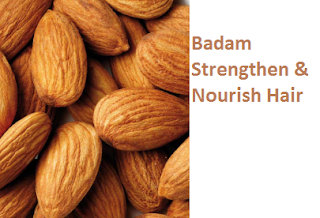 Almonds Health Benefits Badam Strengthen & Nourish Hair