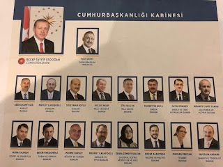 Türkiye'nin Yeni Kabinesi