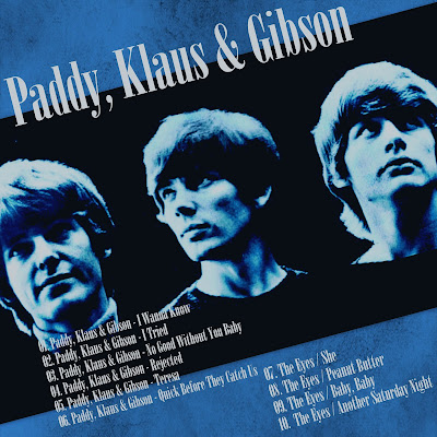 Paddy, Klaus & Gibson - 10'' Same & The Eyes - Star-Club Years