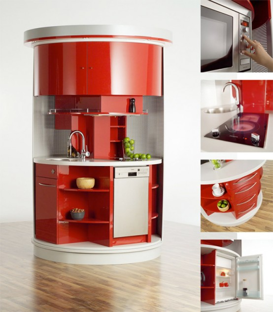 Compact Kitchens For Small Spaces: Lifestyle In Blog: Ideas For Small Space