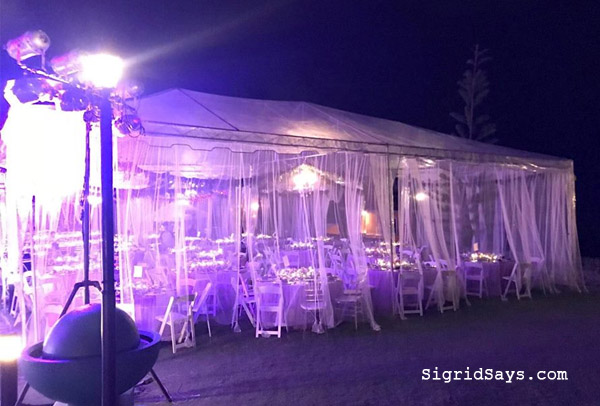 Bacolod canopy rentals - Bacolod wedding suppliers