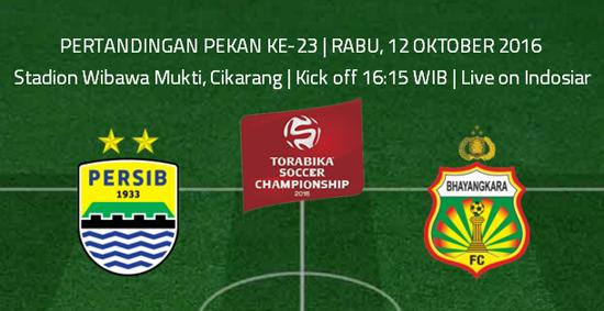 Persib vs Bhayangkara FC