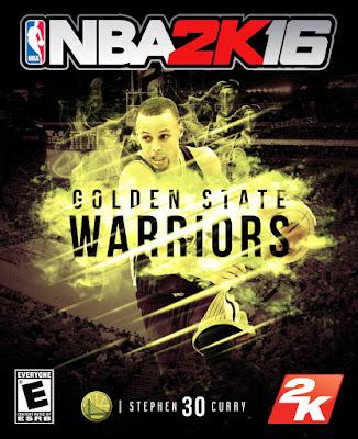 NBA 2K16 Custom Covers - Golden State Warriors
