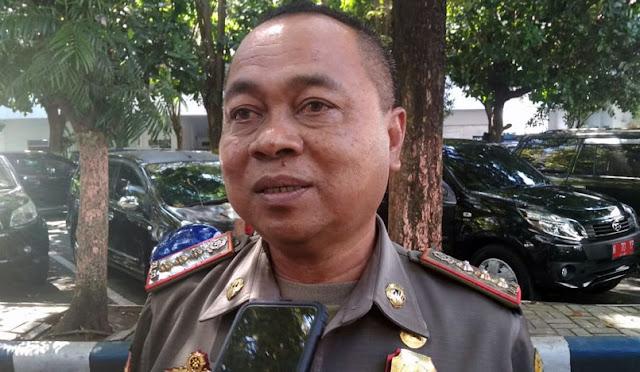 Kepala Satpol Lumjanag, Drs. Basuni