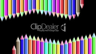 Wallpaper Colorful Pencil