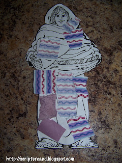 Gluing fabric garment craft