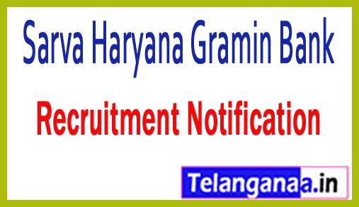 Sarva Haryana Gramin Bank SHGB Recruitment