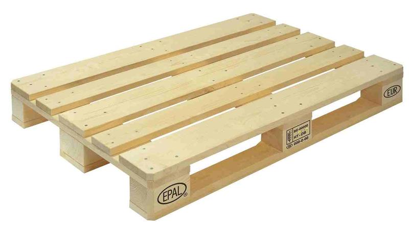 Palet sin maderas inferiores