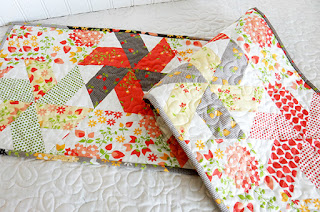 http://www.aquiltinglife.com/2016/07/little-ruby-quilt-along-table-runner.html