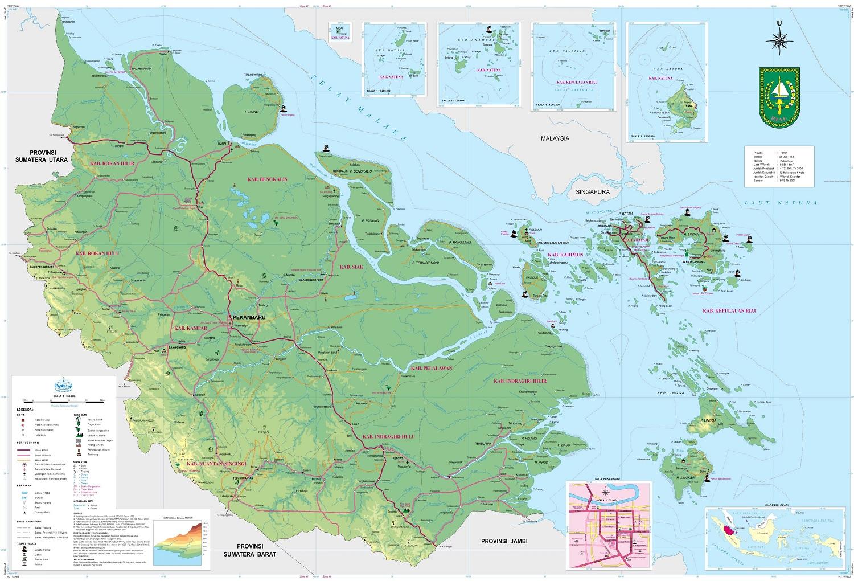Peta Riau