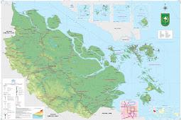 Peta Riau HD Lengkap Ukuran Besar dan Keterangannya