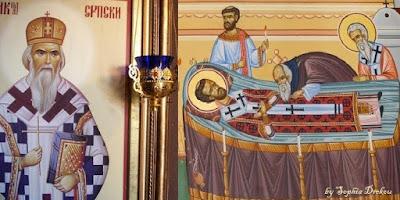 Ύμνος στον άγιο Ιωάννη τον Χρυσόστομο: Η δίκαιη ανταπόδοση και ανταμοιβή! (Αγίου Νικολάου Βελιμίροβιτς: Chrysostom: Condign Retribution and Reward)