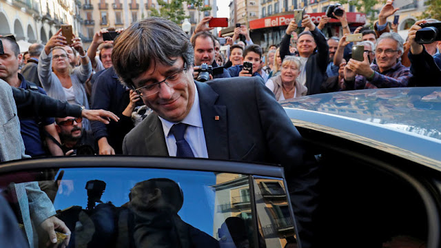 Bélgica investigará a España por el geolocalizador instalado en el auto de Puigdemont