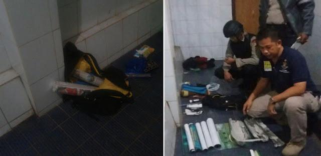 Warga Geger Tas Dikira Bom, Setelah Petugas Memeriksa Ternyata Isinya Kelender, Tasbih dan Peci