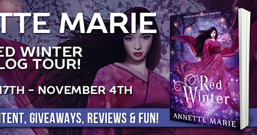 Blog Tour Review, Giveaway, Excerpt: Red Winter by Annette Marie