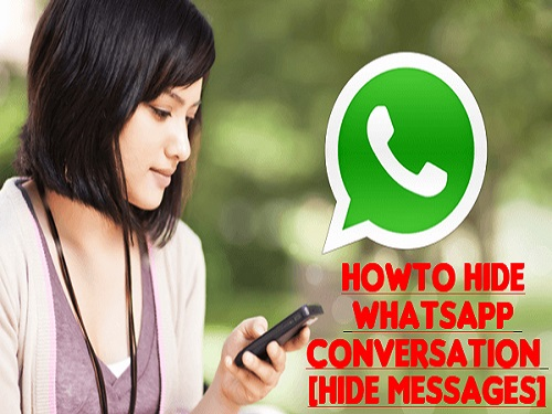 How To Hide Whatsapp Conversation [Hide Messages]