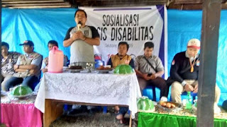 Masa Tenang : Basis Disabilitas Tetap Sosialisasi Meningkatkan Kualitas Pemilih.