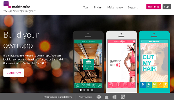 Build your own app انشأ تطبيقك الخاص