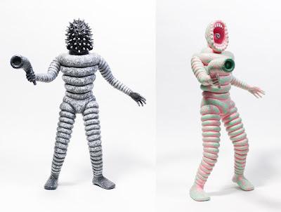 Mr Rotten Donuts Vinyl Figure by Tetsunori Tawaraya x John Dwyer (Thee Oh Sees) x Unbox Industries – Regular Edition & Unmasked Variant