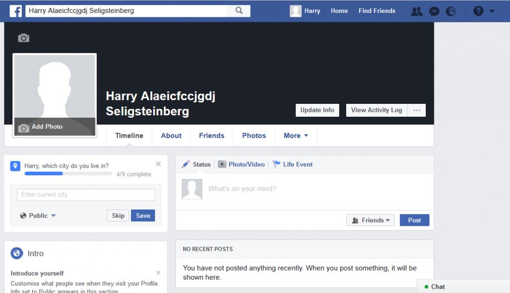 شرح إنشاء حساب فيس بوك وهمي بدون رقم هاتف أو بريد إلكتروني