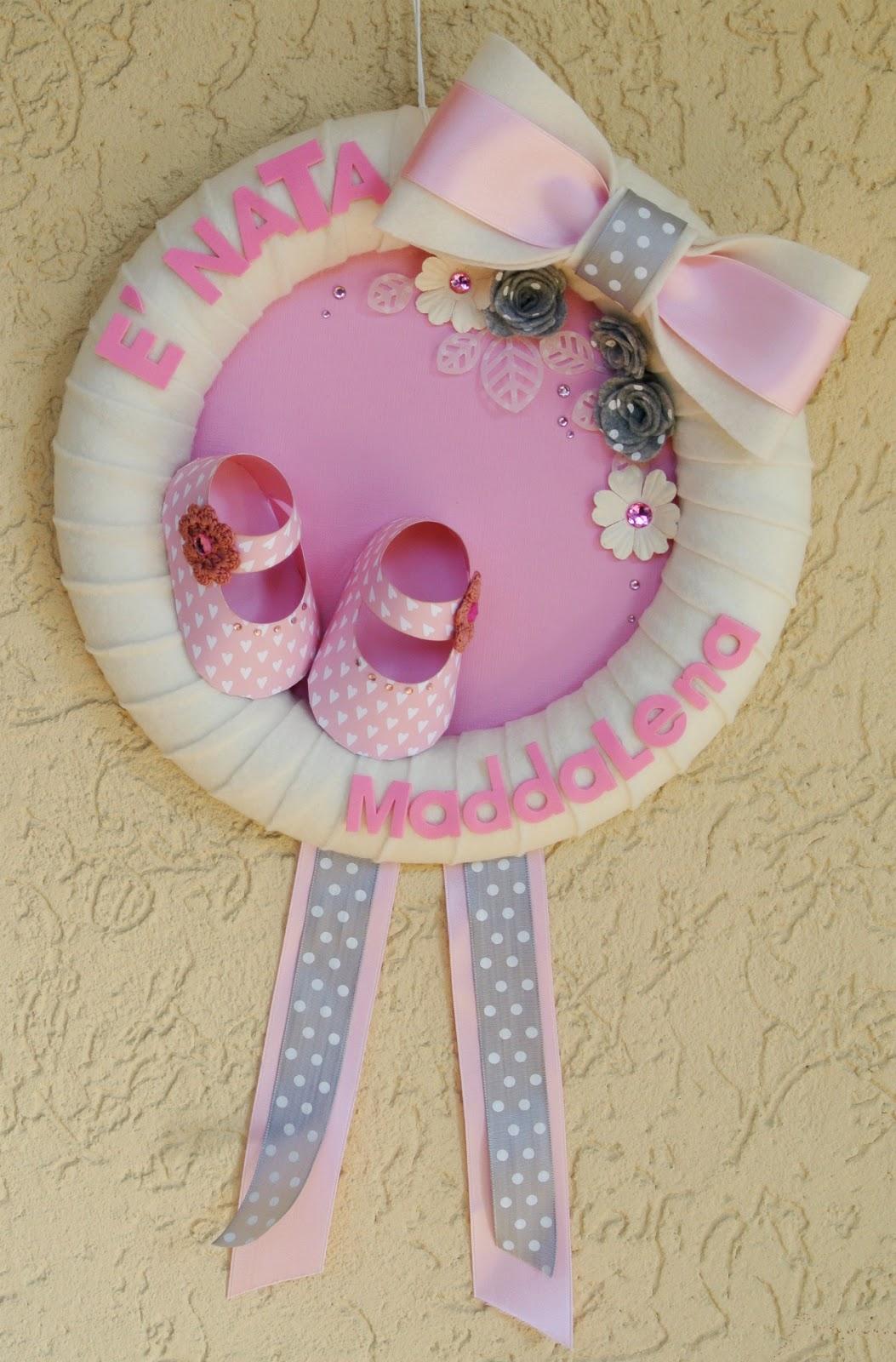 Favorito Satriale's Pork Store: Fiocco nascita per Maddalena TL08
