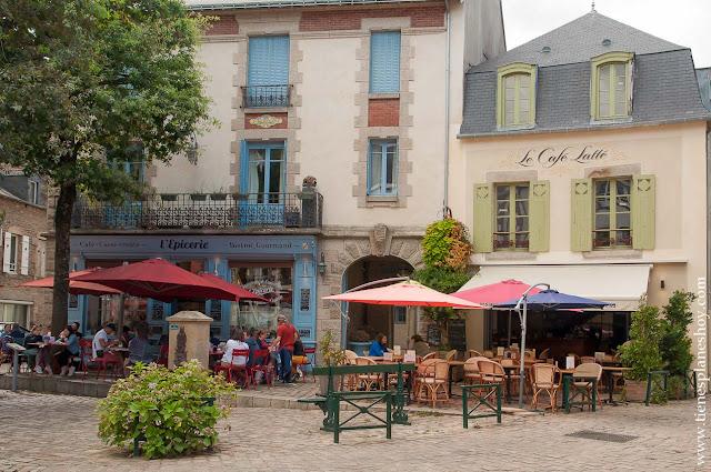 Auray pueblos Bretaña con encanto viaje en coche Francia