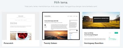 Cara Membuat Blog di Wordpress langkah 3