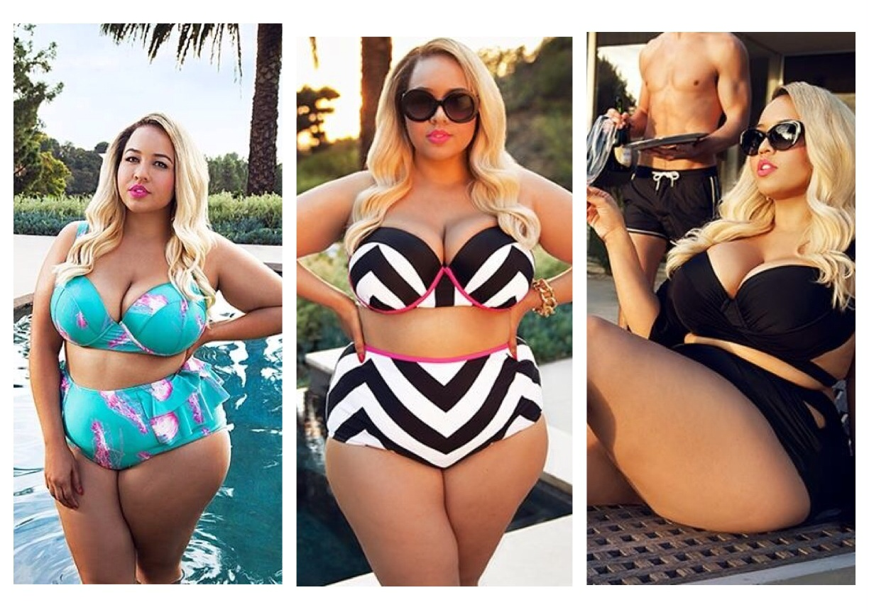 più recente 3eae4 0af1a Les Femmes Rebelles: Moda mare: costumi per donne curvy