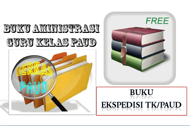 Download Contoh Buku Ekspedisi TK/PAUD Revisi 2016